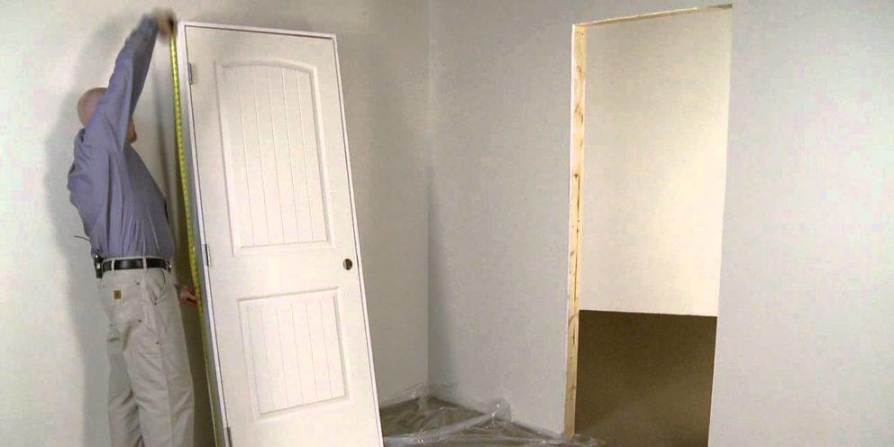 Comment installer une porte interieur ?